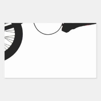 WillieBMX:  The One Rectangular Sticker