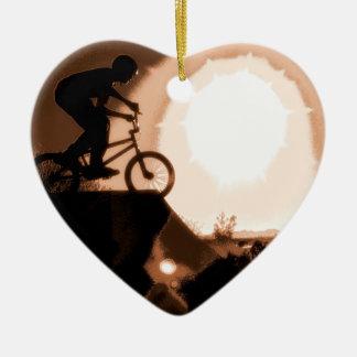 WillieBMX The Warm Earth Heart Ornament