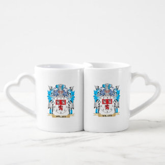 Willies Coat of Arms - Family Crest Couples' Coffee Mug Set
