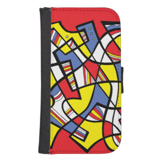 Willing Amusing Bright Keen Wallet Phone Case For Samsung Galaxy S4