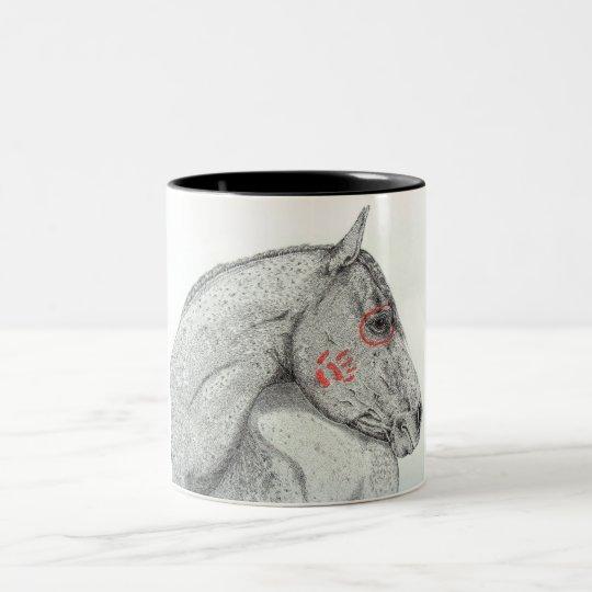 Willing Warrior Two-Tone Coffee Mug