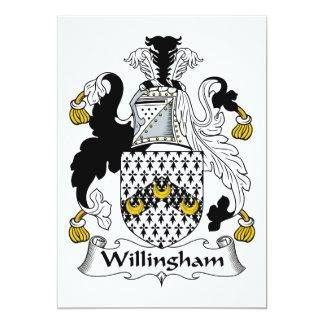 Willingham Family Crest Card