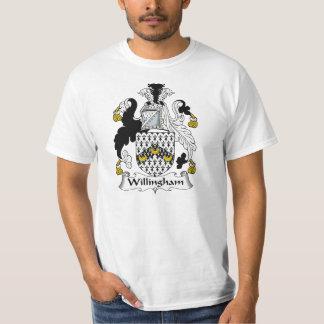 Willingham Family Crest T-Shirt