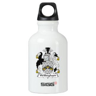 Willingham Family Crest Water Bottle