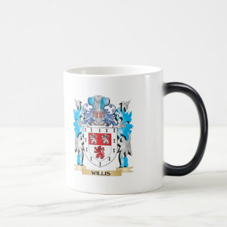 Willis Coat of Arms - Family Crest 11 Oz Magic Heat Color-Changing Coffee Mug