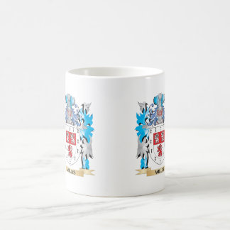 Willis Coat of Arms - Family Crest Classic White Coffee Mug