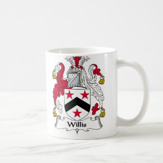 Willis Family Crest Classic White Coffee Mug