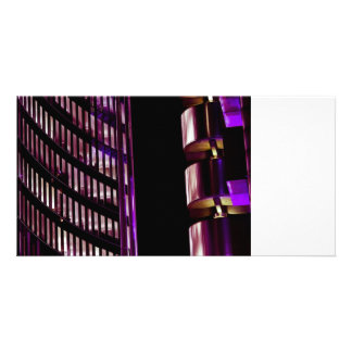 Willis Group and Lloyd s of London Abstract Photo Card