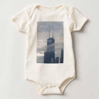 Willis (Sears) Tower Baby Bodysuit