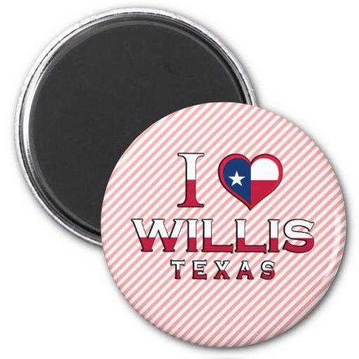 Willis, Tejas Imán Redondo 5 Cm