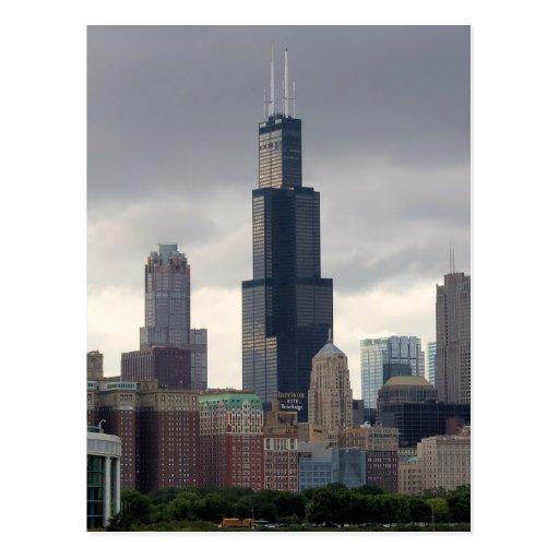 Willis Tower Chicago Illinois Postcard Zazzle