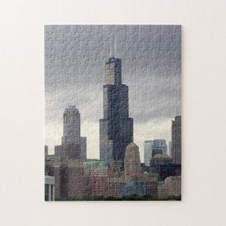 Willis Tower - Chicago, Illinois Puzzle