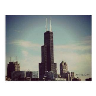 Willis Tower Chicago Postcard
