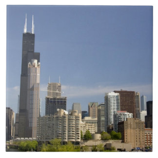 Willis Tower formerly known as the Sears Tower Ceramic Tile