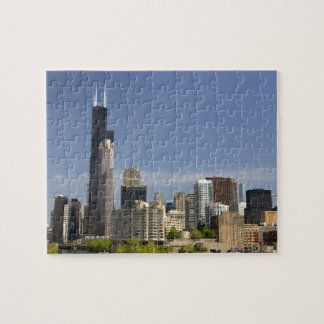 Willis Tower formerly known as the Sears Tower Jigsaw Puzzle