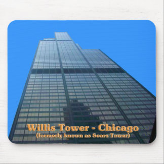 Willis Tower - Formerly Known As The Sears Tower Mouse Pad
