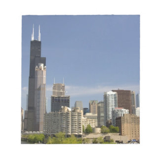 Willis Tower formerly known as the Sears Tower Notepad