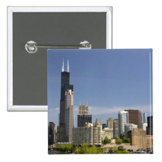 Willis Tower formerly known as the Sears Tower Pinback Button