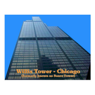Willis Tower - Formerly Known As The Sears Tower Postcard