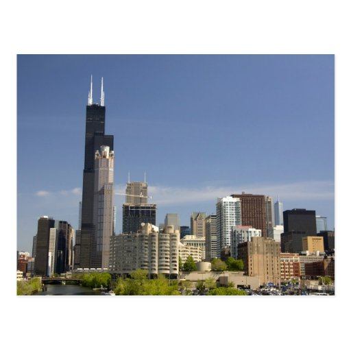 Willis Tower Formerly Known As The Sears Tower Postcard