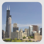 Willis Tower formerly known as the Sears Tower Square Stickers