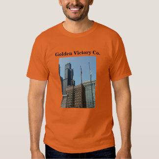 willis tower image by golden victory co. T-Shirt