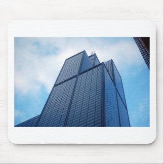 willis tower mouse pad