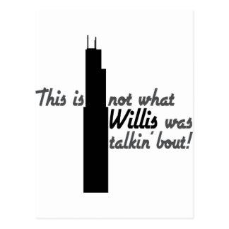 Willis Tower Name Change Postcard