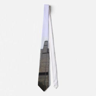 Willis Tower Neck Tie