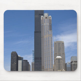 Willis Tower (previously the Sears Tower) looms Mouse Pad