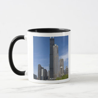 Willis Tower (previously the Sears Tower) looms Mug