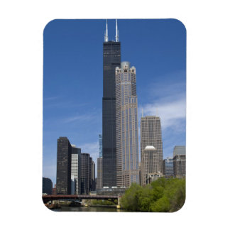 Willis Tower (previously the Sears Tower) looms Vinyl Magnets