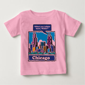 Willis Tower/Sears Tower Baby T-Shirt