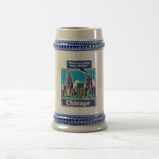 Willis Tower/Sears Tower Beer Stein