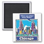 Willis Tower/Sears Tower Fridge Magnet