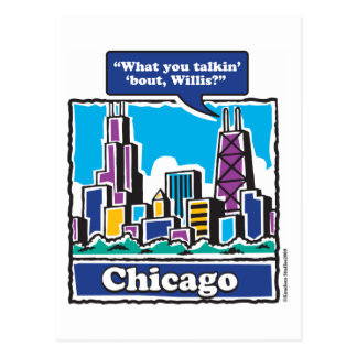 Willis Tower Sears Tower Postcard