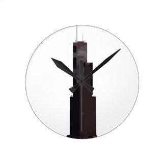 Willis Tower (Sears Tower) Round Clock