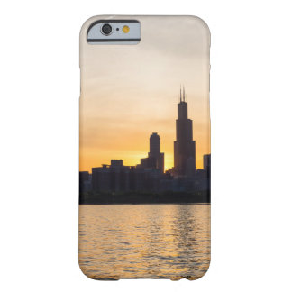 Willis Tower Sunset Sihouette Barely There iPhone 6 Case