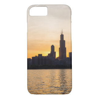 Willis Tower Sunset Sihouette iPhone 8/7 Case