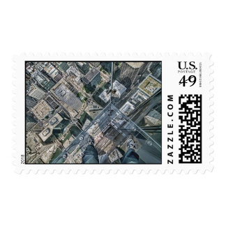 """Willis Tower """"The Ledge"""" stamps"""