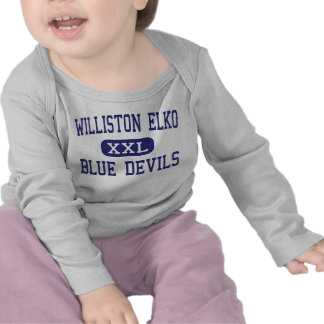 Williston Elko - Blue Devils - High - Williston Tee Shirt