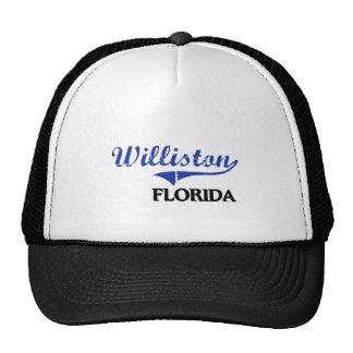 Williston Florida City Classic Mesh Hats
