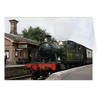 Williton station, West Somerset Railway, UK Card