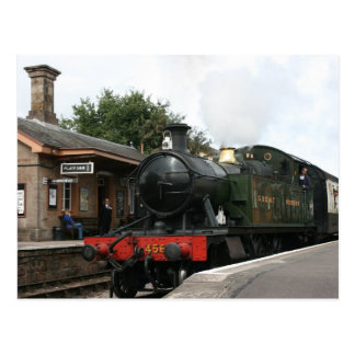 Williton station, West Somerset Railway, UK Postcard