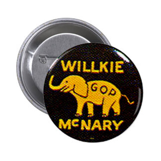 Willkie-McNary - Button