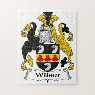 Willmot Family Crest Puzzle
