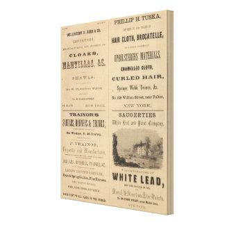 Willouchby H Reed y Company Impresiones En Lona Estiradas