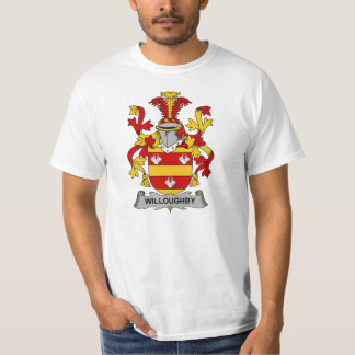 Willoughby Family Crest Tshirt