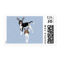 Willow and Walker Holiday Postage Stamp