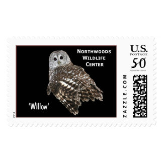 'Willow' Barred Owl Postage